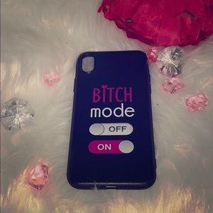 Bi❌ch Mode iPhone XR Case